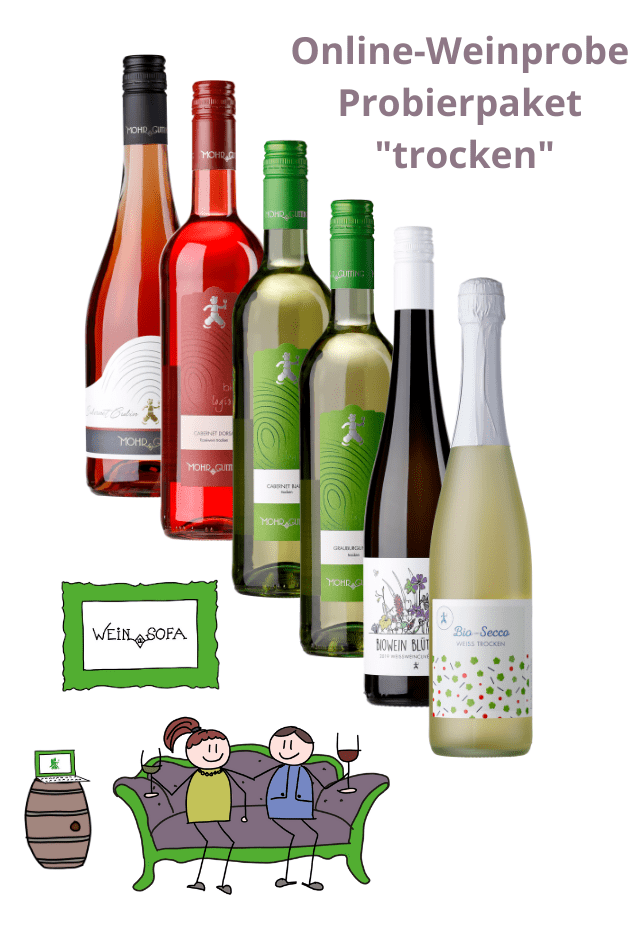 "Wein-Sofa ""trocken"""