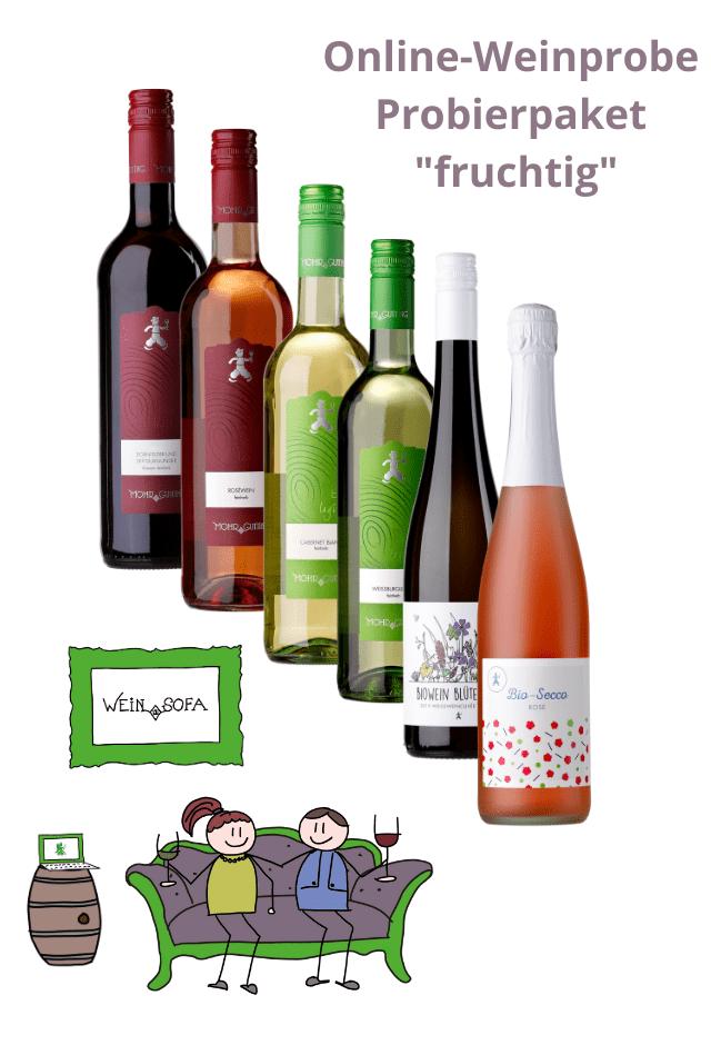 """Wein-Sofa """"fruchtig"""""""